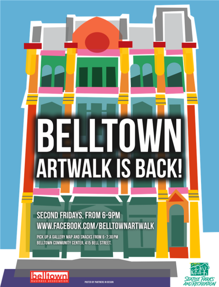 Belltown Artwalk is BACK!